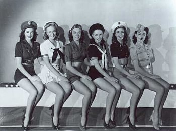 Beautiful Women In Wwii